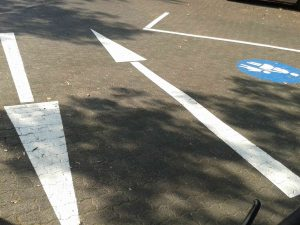 Piktogramm Fahrradstraße