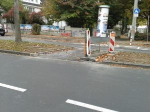 Fahrradabschnitt Georgstrasse